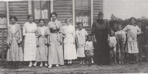 Carbon Hill Group Photo, early 1900's
